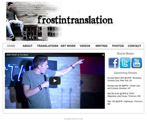 FrostInTranslation